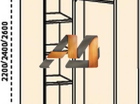 Композиция шкафов Аристократ №2
